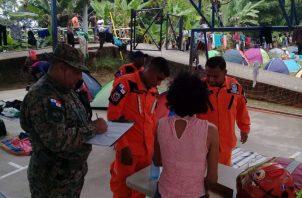 Un grupo de más de 700 migrantes ingresó, recientemente, al territorio por el Caribe. Foto de Twitter
