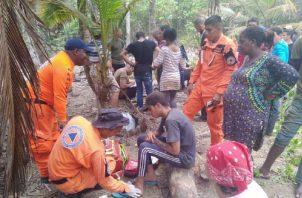 Todos están recibiendo atención médica y hasta comida. Foto: Cortesía