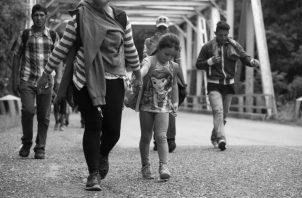 El Salvador no tendrá autoridad para devolver a los migrantes que van en tránsito a Estados Unidos ya que el convenio no contempla eso como tal, según el acuerdo. Foto: Archivo.