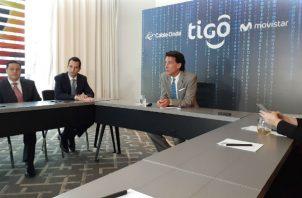 Mauricio Ramos, CEO de Millicom afirmó que Panamá tiene que tener una autopista digital y poco importa la marca, lo esencial es tener buena red. Foto/Yessika Valdés