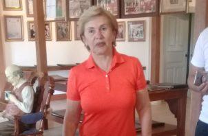 Mireya Moscoso, expresidente de Panamá. Foto: Lissette Zorrilla