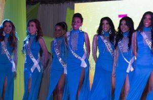 Algunas de las finalistas.