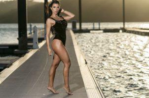 Las modelos disfrutaron de esta gran  plataforma.  Foto: José Emilio Madrid