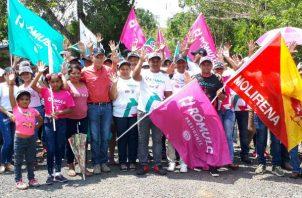 Con el apoyo de estos dirigentes del Molirena se fortalece aún más la candidatura presidencial de Rómulo Roux.