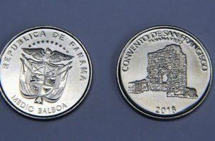 Error en acuñación de monedad alusiva a los 500 años. Foto/Archivos