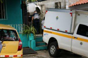 El lugar fue acordonado por unidades de la Policía Nacional y funcionarios de Criminalística. Foto: Melquíades Vásquez.