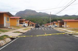 El incidente ocurrió en la Barriada de Alto de Cañaveral, Corregimiento de Cañaveral distrito de Penonomé. Foto/Cortesía/Elena Váldez