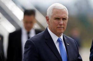 El vicepresidente de Estados Unidos, mantiene la promesa presidencial sobre el muro. FOTO/EFE