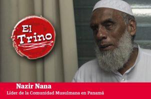 Nazir Nana pide a los medios de comunicación  informar  mejor sobre las bondades del  Islam.  Víctor Arosemena