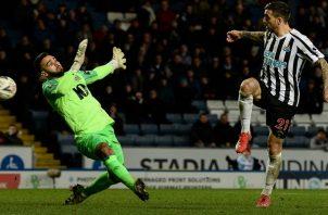 Newcastle  está más preocupado por la liga.