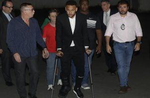 Neymar no está cómodo en París.