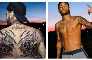 """Su tatuador Thieres Paim viajó hasta París y es parte de """"Nautica Tattoo"""", uno de los estudios de tatuajes más grandes de Brasil."""