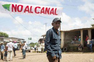 """Las protestas """"anticanal"""", en medio del estallido sociopolítico contra Ortega en 2018, llevaron a prisión a algunos líderes campesinos, mientras que otros huyeron al exilio por amenazas de muerte."""