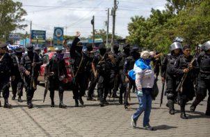 """Ortega rechaza todos los señalamientos e insiste en que se trata de un intento de """"golpe de Estado""""."""