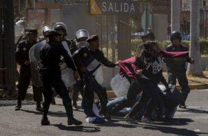 Las protestas contra el gobierno de Daniel Ortega se han generalizado. Foto. EFE.