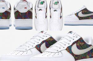 Nike con diseños de molas.