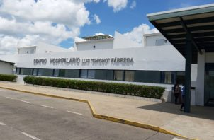 """Hospital Regional doctor Luis """"Chicho"""" Fábrega. Foto: Melquíades Vásquez ."""