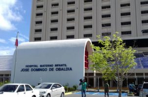 Hospital materno infantil José Domingo de Obaldía en David, Foto: Mayra Madrid.