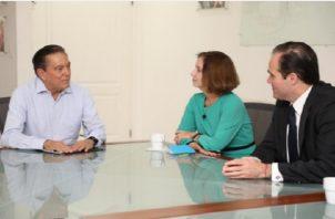 Laurentino Cortizo se reúne con funcionario del Gobierno de Estados Unidos.