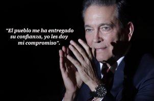 Laurentino Cortizo, presidente electo de Panamá. Foto/EFE