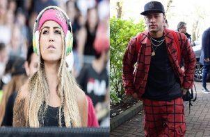 Neymar no esconde su nuevo romance.