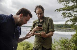 """""""O es el sitio cero para salvar una especie o el sitio cero para un problema grande"""", dijo Michael Tessler (der.). (Brittainy Newman/The New York Times)"""