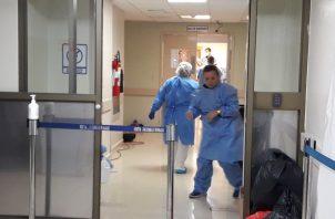 El hospital dejó claro que la biodescontaminación no es un proceso nuevo ya que se ha realizado en varias ocasiones en los años 2012, 2014, 2016 y durante este año. Foto/Mayra Madrid