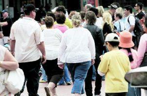 La obesidad se marca como uno de los principales problemas de la salud en el país. Por tener sobrepeso, se activan otras enfermedades secundarias. Foto: Panamá América