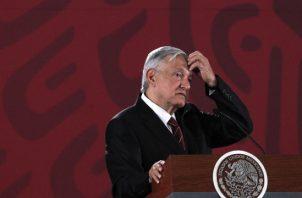 Andrés Manuel López Obrador reveló disputas de Urzúa con la titular del Servicio de Administración Tributaria (SAT), Margarita Ríos-Farjat, y en la manera de manejar la Banca de Desarrollo. FOTO/EFE