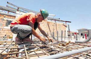 Datos de la Cámara Panameña de la Construcción (Capac), la industria genera 175 mil empleos directos. Foto/Archivo