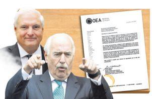OEA está pendiente de impugnaciones a Ricardo Martinelli. Foto: Panamá América.