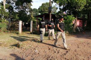 Operativos, allanamientos, detenciones para bajar la violencia en La Chorrera. Foto/Eric Montenegro