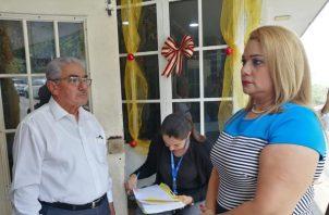 La suspensión del alcalde Sánchez Moro, surge de un proceso en su contra, iniciado en enero de 2018 a raíz de una queja presentada por la vice alcaldesa Militza Esther Palma. Foto/Eric Montenegro