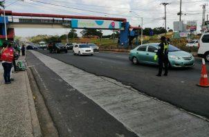 Las autoridades le solicitan a los conductores tomar precauciones al manejar. Foto/Eric Montenegro