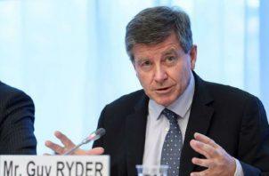 Guy Ryder, director general de la Organización Internacional del Trabajo.  Foto:EFE