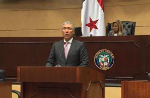 Olmedo Arrocha tuvo dos votos en contra.