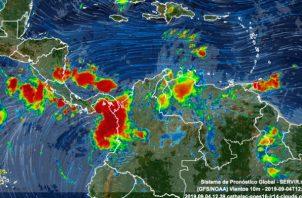 La onda tropical N° 37 afectará al país hasta el viernes 4 de septiembre hasta las 11:00 p.m. Foto: Panamá América.