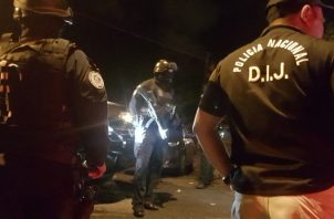 En los operativos policiales en Colón,  se decomisaron armas de fuego y municiones.