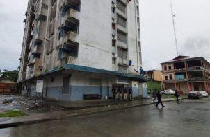 """La fuerza """"Alfa"""" llevó a cabo una serie de operativos en Colón para combatir la violencia. Foto/Diómedes Sánchez"""