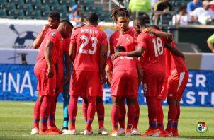 Panamá  enfrenta a Jamaica. Foto: @Fepafut