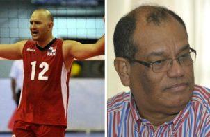 Eduardo Guerra aplasta a Javier 'Patacón' Ortega en elecciones de Voleibol. Foto: Panamá América.