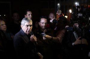 El expresidente Óscar Arias, está envuelto en un escabroso caso de presunto acoso sexual. FOTO/EFE