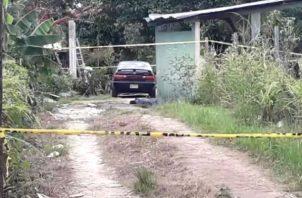 El homicidio se registró cerca de la cancha de fútbol en el sector 2 de Pacora.