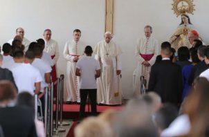 ¡Milagro, juez otorga libertad condicional a menor que habló con el papa Francisco en Las Garzas! Foto: @MinGobPA.