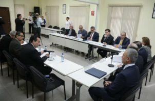 La reunión para definir el orden de las entrevistas a los aspirantes a magistrados de la Corte Suprema de Justicia se realizará mañana viernes. Foto: Panamá América.