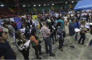 Hasta marzo del 2019, la tasa de desempleo en Panamá se ubica en 6.4%, las más alta en los últimos años. Archivo
