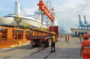 Sintraporspa reitera la solicitud a las autoridades del Ministerio de Trabajo, para que se realice con prontitud la inspección formal dentro del Puerto de Balboa. Foto/Cortesía