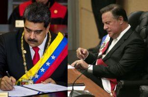 Expertos consideran que Panamá dio un paso correcto al desconocer el gobierno de Maduro, pero no así al dilatar  el anuncio de la ruptura de relaciones. /Foto EFE / Víctor Arosemena