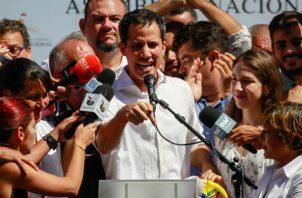 Gobernante interino de Venezuela, Juan Guaidó
