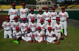 El equipo de Panamá B.